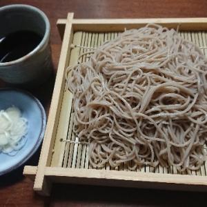 盛り蕎麦(小山製麺『奥州池森そば 香りの外一』)