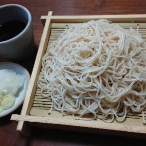 盛り蕎麦(おびなた『信州戸隠池森そば 爽やか更科』)