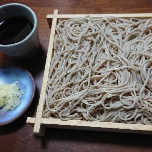 盛り蕎麦(昭和製麺『山形板そば 最上早生』)