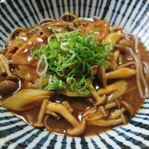 カレー南蛮蕎麦(石黒製麺『百匁そば』)