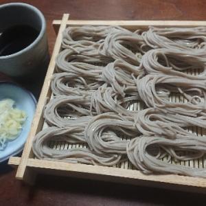 盛り蕎麦(自然芋そば『越後池森そば のどごしのへぎそば』)
