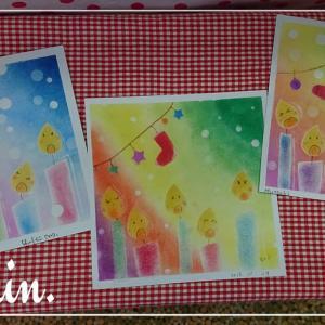 かわいい雑貨屋さんでパステル講座☆サイレントナイト/クリスマスリース☆