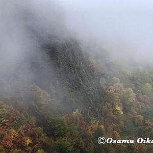 【札幌市定山渓】秋の豊平峡風景
