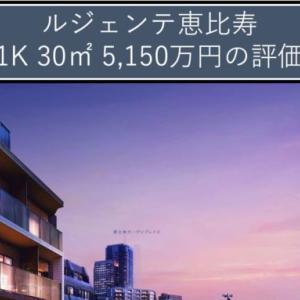 ルジェンテ恵比寿 1K 30㎡ 5,150万円の評価(格付C)