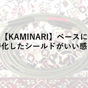 【KAMINARI】ベースに特化したシールドがいい感じ【比較】