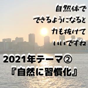 【2021年 テーマ②「自然に習慣化」】