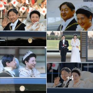即位の礼 両陛下、沿道の歓声に笑顔で応え《祝賀御列の儀》に臨まれた 天皇皇后両陛下 TVスナップスクラップ 📷