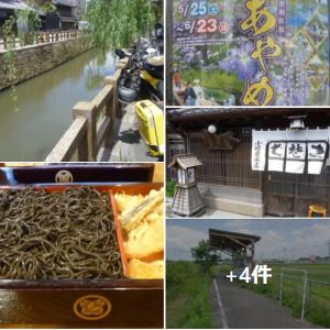 霞ヶ浦から水郷「佐原」 名物「黒切り蕎麦」で腹ごしらえ ⛵