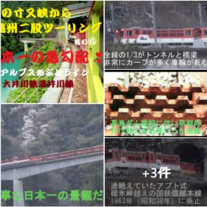 日本一の急勾配 南アルプスあぷとライン 大井川鉄道井川線 🚋