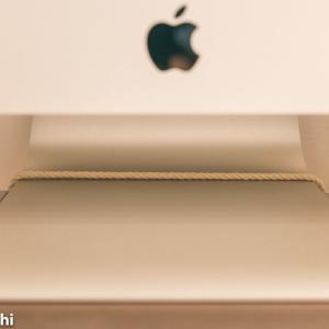 iMacの地震対策(転倒防止)を格安で自作した!