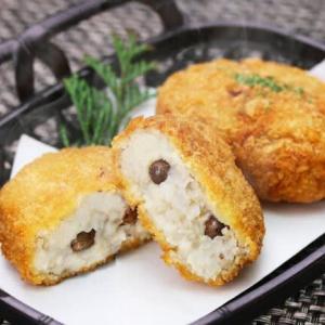 何もつけなくても美味しい!自然薯コロッケ!箱根 自然薯の森 山薬