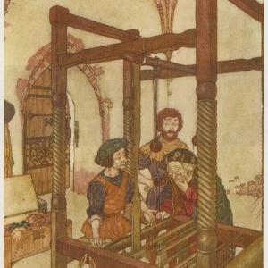中世を感じるポストカード