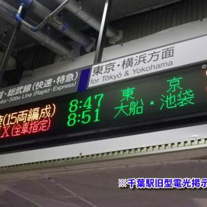 【遂に】JR東日本千葉駅にもATOS放送が導入される!