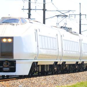 【白いボディー】最後の651系0番台K205編成が廃車回送される