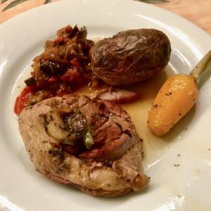 子羊のひざ肉と人参の煮込みレシピ  Becquet (Souris)d'agneau aux carottes