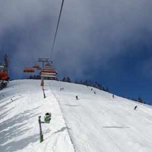 スキー場が生き返ったそしてテククラ