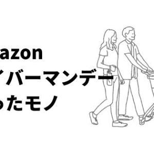 わたしがAmazonサイバーマンデーで買ったもの!ついにスマートスピーカーを…