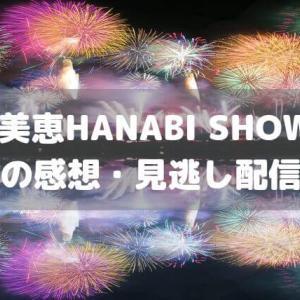 安室奈美恵HANABI SHOW2019|SNSでの感想・見逃し配信はある?