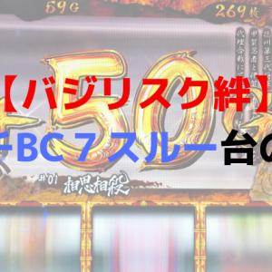 【バジリスク絆】朝イチBC7スルー台の実力