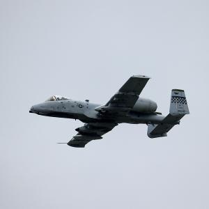 2019.09 横田AB 日米友好祭2019 Fairchild A-10 Thunderbolt II アプローチ