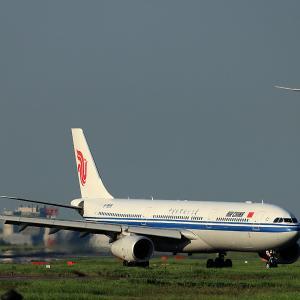 2019.08 羽田AP ソラムナード羽田緑地 AIR CHINA A330-300 B-5958 RWY22 ARV