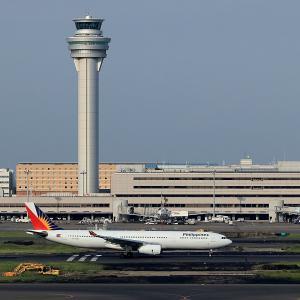 2019.08 羽田AP 国際線ターミナル Philippines A330-300 RP-C8780 RWY16R DEP