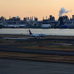 2011.01 羽田AP 第1ターミナル SKY B38 JA737N RWY34L ARV