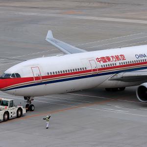 2011.02 羽田AP インタミ CHINA EASTERN A330-300 B-6120