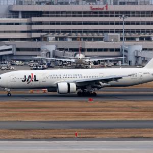 2011.02 羽田AP インタミ JAL B72 JA8979 RWY34L ARV