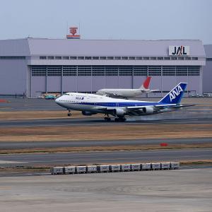 2011.02 羽田AP インタミ ANA B44 JA8961 RWY34L ARV