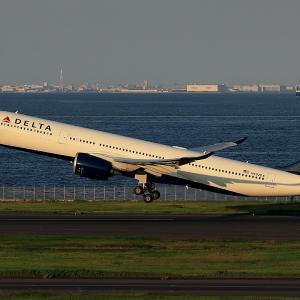 2020.09 羽田AP 2タミ DELTA A330-900 N402DX RWY34R DEP