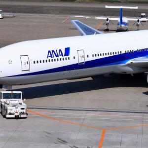 2011.03 羽田AP 第2ターミナル ANA B73 JA751A