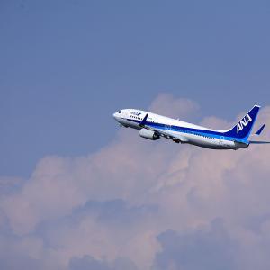 2011.03 羽田AP 第2ターミナル ANA B38 JA58AN RWY34R DEP