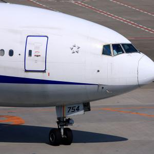 2011.03 羽田AP 第2ターミナル ANA B73 JA754A
