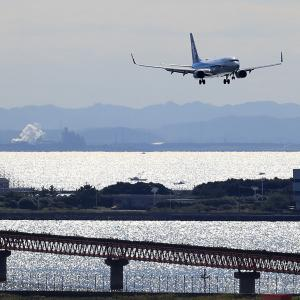 2020.10 羽田AP 第一ターミナル ANA B38 JA75AN RWY34L ARV