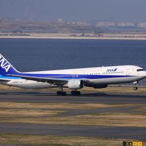 2011.03 羽田AP 第2ターミナル ANA B63 JA8322 RWY16L DEP