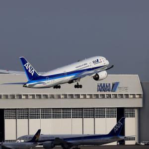 2021.02 羽田AP 3ターミナル ANA B88 JA815A RWY16R DEP