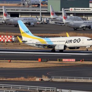 2021.02 羽田AP 3ターミナル ADO B37 JA08AN RWY16R ARV