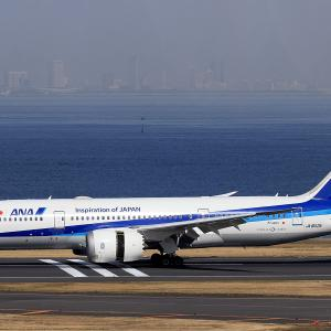 2021.03 羽田AP 2ターミナル ANA B88 JA802A RWY34R ARV