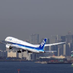 2021.03 羽田AP 2ターミナル ANA B89 JA872A RWY34R DEP