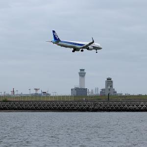 2021.04 海羽田27 ANA A320 JA150A RWY22 ARV