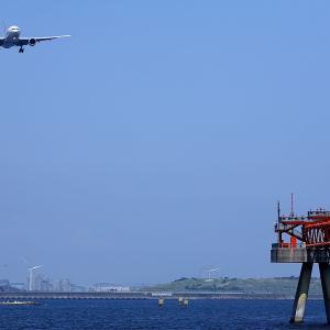 2011.07 海羽田2 屋形船 JAL B72 JA773J RWY22 ARV