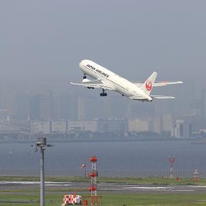 2021.07 羽田AP 第2ターミナル JAL B63 JA602J RWY34R DEP