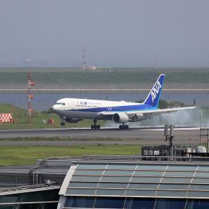 2021.07 羽田AP 第2ターミナル ANA B63 JA608A RWY34R ARV