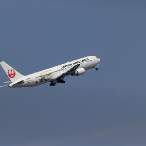 2021.07 羽田AP 第2ターミナル JAL B63 JA656J 日本博 RWY16L DEP