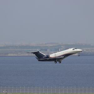 2021.07 羽田AP 第2ターミナル WELLS FARGO Embraer ERJ-145  N712EA RWY16L DEP