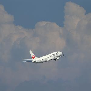 2021.07 羽田AP 第2ターミナル JAL B38 JA348J RWY16L DEP