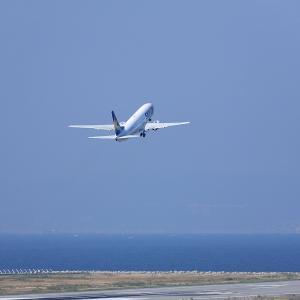 2011.10 神戸AP 神戸ターミナル SKY B38 JA737H RWY27 DEP