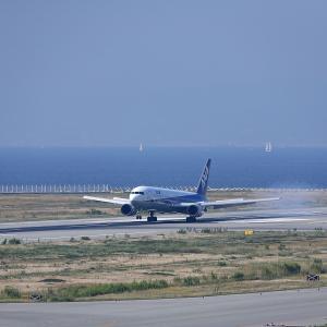 2011.10 神戸AP 神戸ターミナル ANA B63 JA601A RWY09 ARV