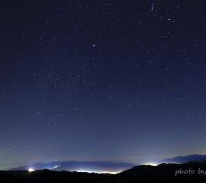 信州冬紀行 夜空の宝石